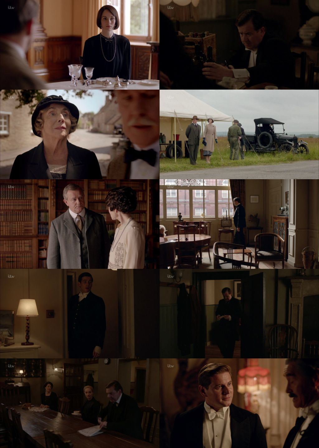 Downton Abbey 720p Season 1