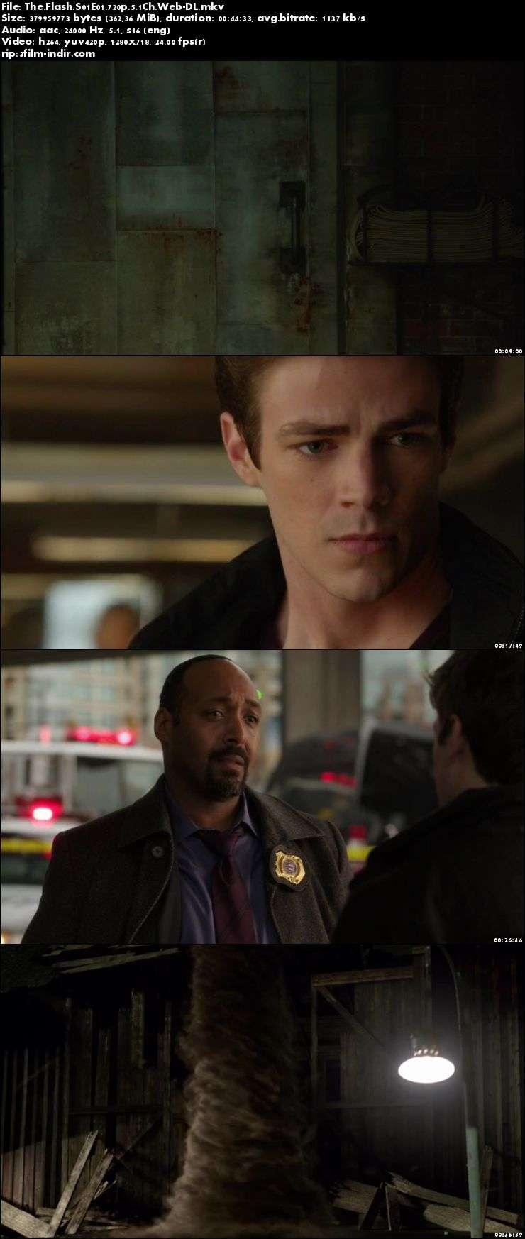 The Flash (2014–) 1. Sezon Full - 2. Sezon İlk 8 ölüm Güncel 720p WEBDL x264 Türkçe Altyazılı indir