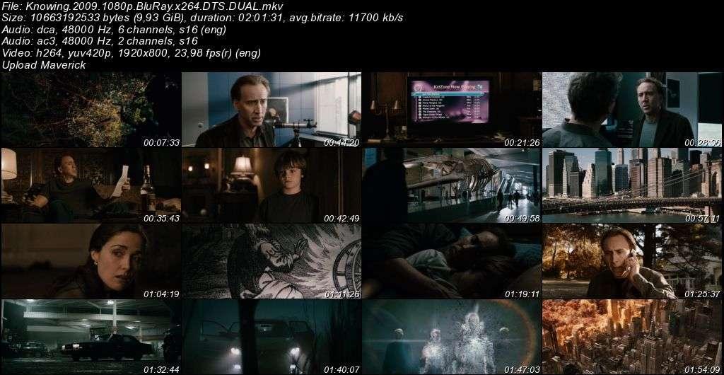 Kehanet - Knowing - 2009 BluRay 1080p DuaL MKV indir