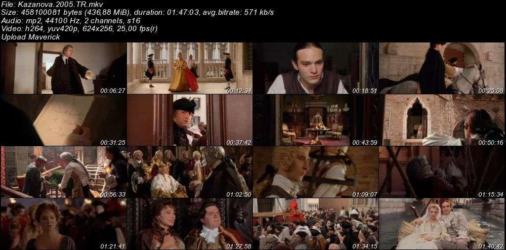 Kazanova – Casanova - 2005 Türkçe Dublaj MKV indir