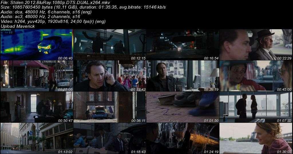 Suç Ortağı - Stolen - 2012 BluRay 1080p DuaL MKV indir