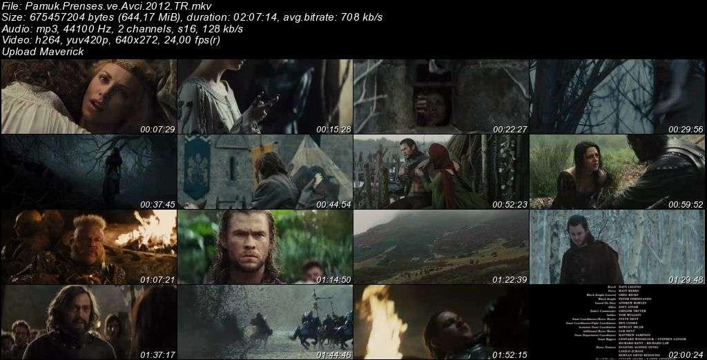 Pamuk Prenses ve Avcı - Snow White And The Huntsman - 2012 Türkçe Dublaj MKV indir