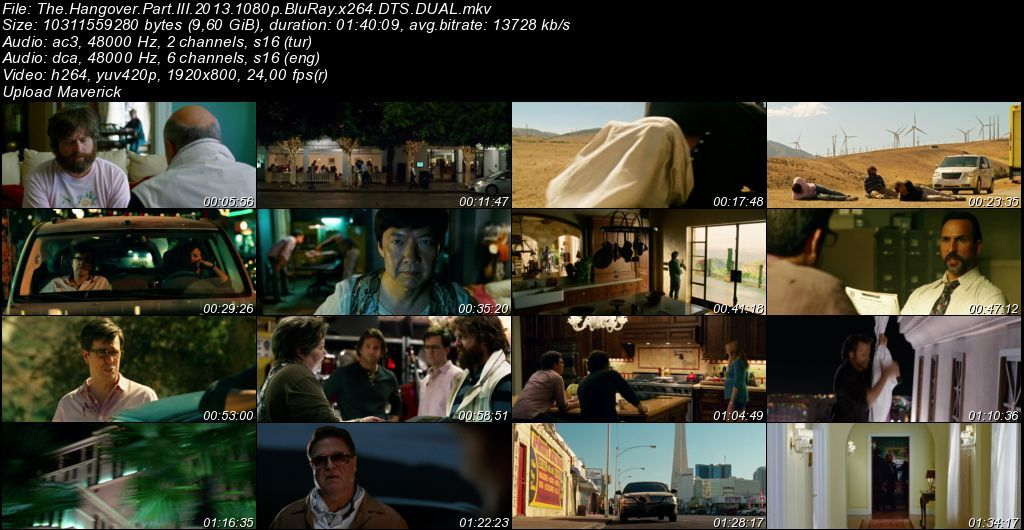 Felekten Bir Gece 1-2-3 BoxSet BluRay 1080p DuaL MKV indir