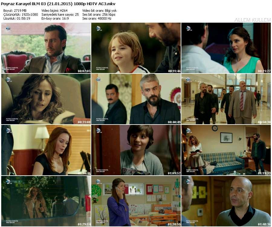 Poyraz Karayel 3.Bölüm (21.01.2015) 1080p HDTV