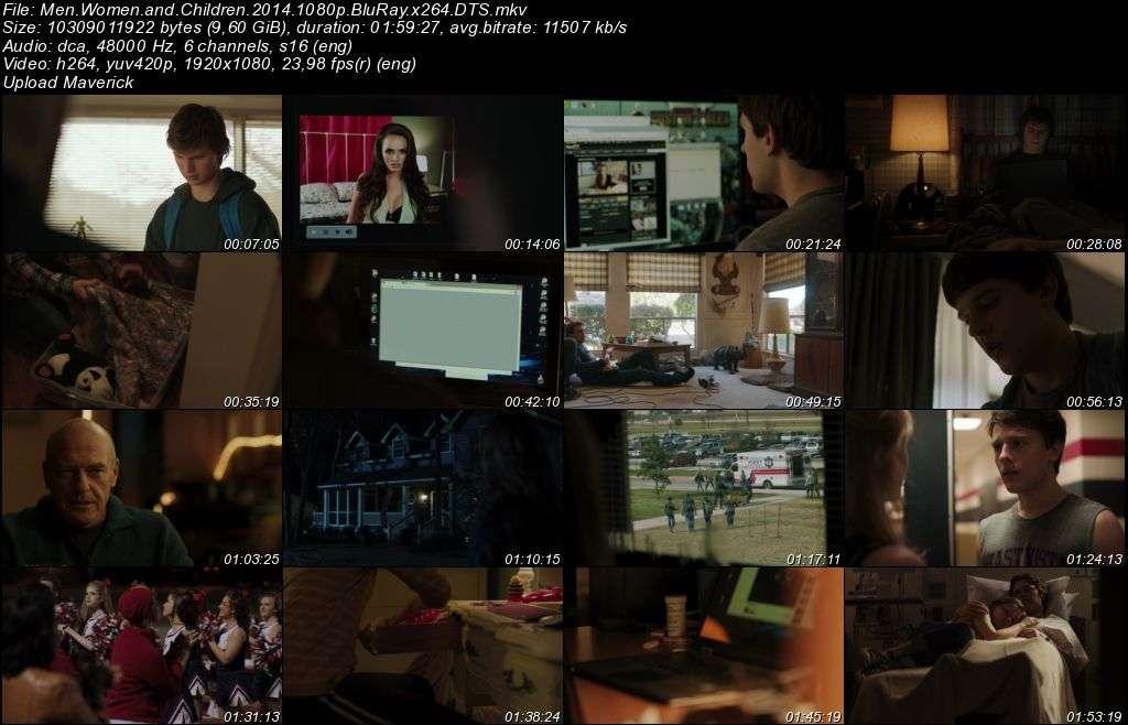 Men Women and Children - 2014 BluRay 1080p x264 DTS MKV indir
