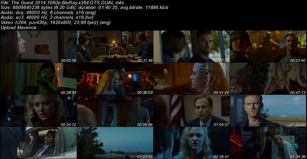 Misafir - The Guest - 2014 BluRay 1080p DuaL MKV indir