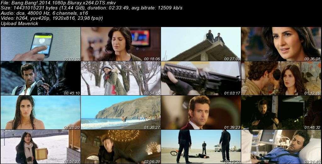 Bang Bang! - 2014 BluRay 1080p x264 DTS MKV indir