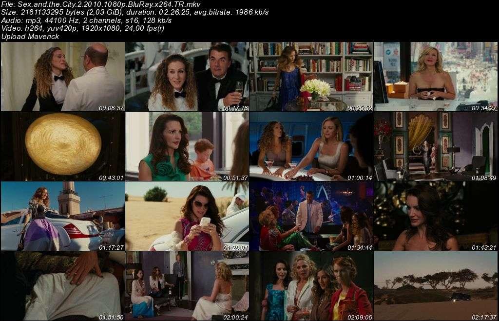 Sex And The City 1-2 BluRay m1080p Türkçe Dublaj MKV indir