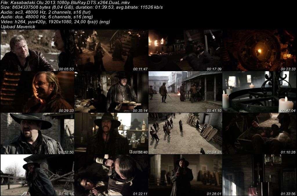 Kasabadaki Ölü - Dead in Tombstone - 2013 BluRay 1080p DuaL MKV indir