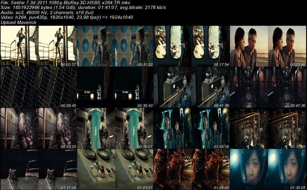 Sector 7 - 2011 3D BluRay m1080p H-SBS Türkçe Dublaj MKV indir
