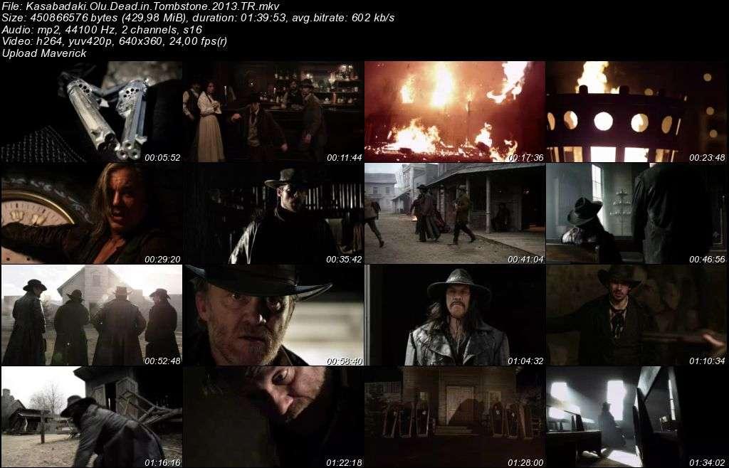 Kasabadaki Ölü - Dead in Tombstone - 2013 Türkçe Dublaj MKV indir