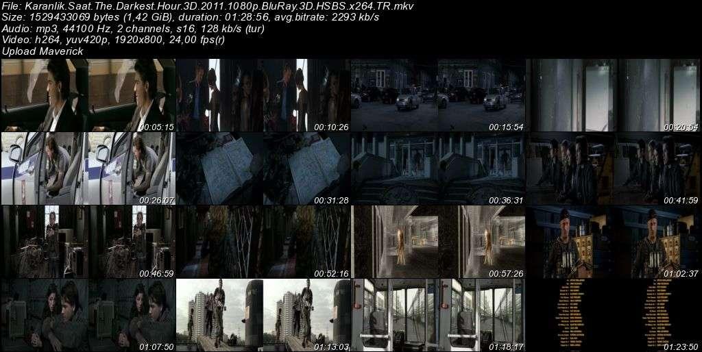 Karanlık Saat - 2011 3D BluRay m1080p H-SBS Türkçe Dublaj MKV indir