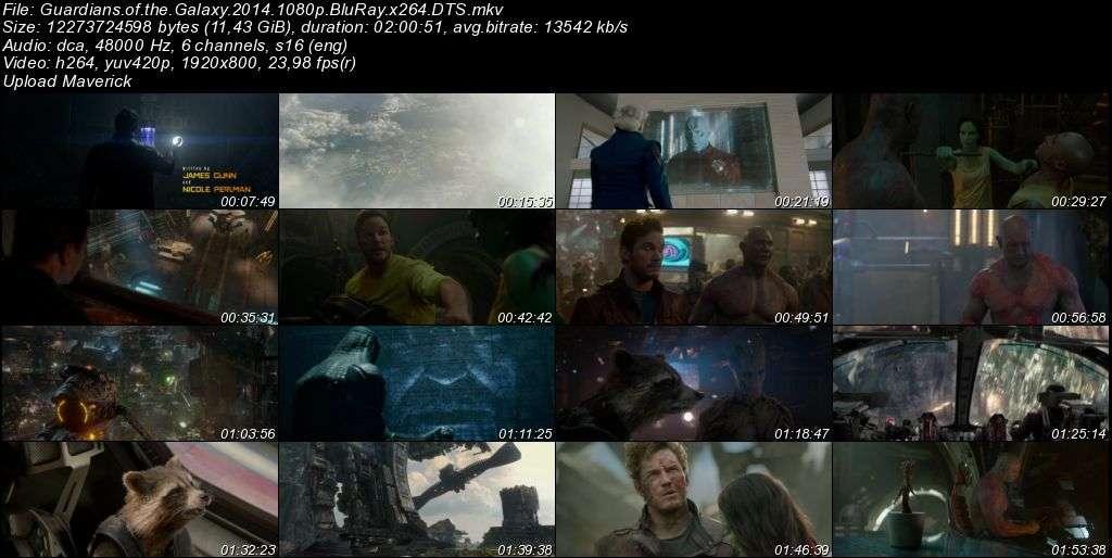 Galaksinin Koruyucuları - Guardians of the Galaxy - 2014 BluRay 1080p x264 DTS MKV indir