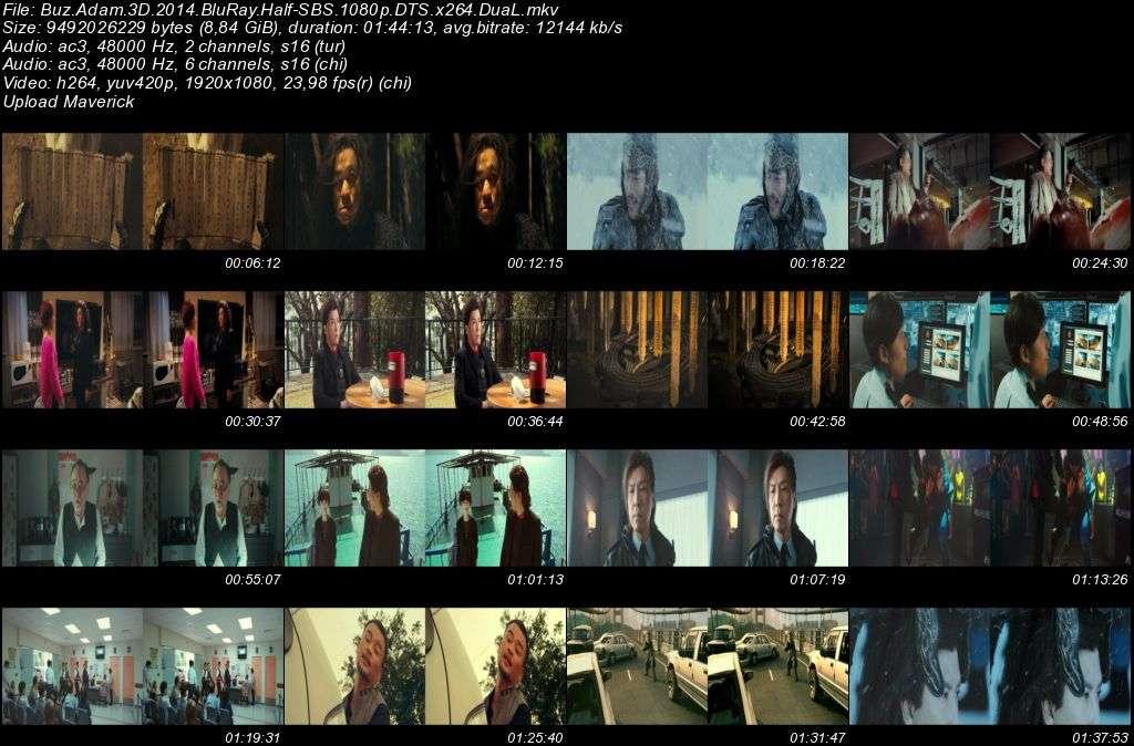 Buz Adam - Iceman - 2014 3D BluRay 1080p Half-SBS DuaL MKV indir