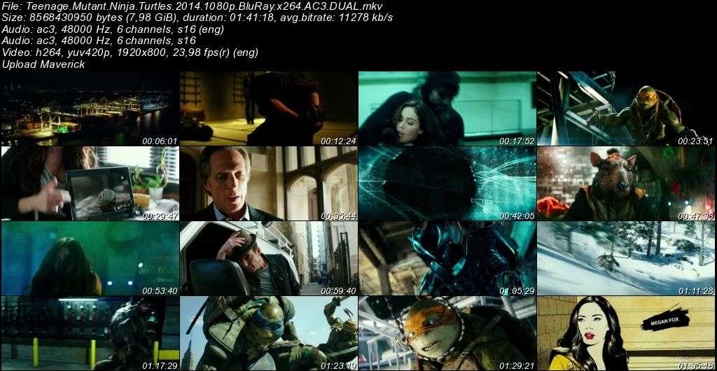 Ninja Kaplumbağalar - 2014 BluRay 1080p DuaL MKV indir