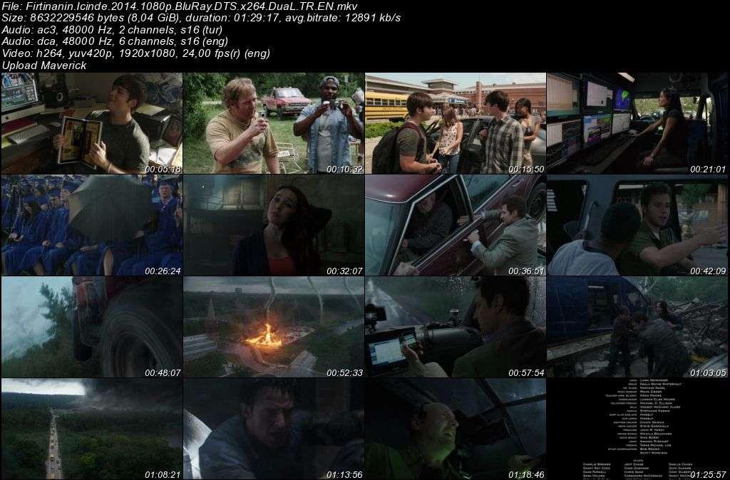 Fırtınanın İçinde - Into the Storm - 2014 BluRay 1080p DuaL MKV indir