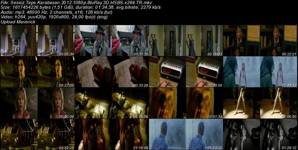 Sessiz Tepe: Karabasan - 2012 3D BluRay m1080p H-SBS Türkçe Dublaj MKV indir