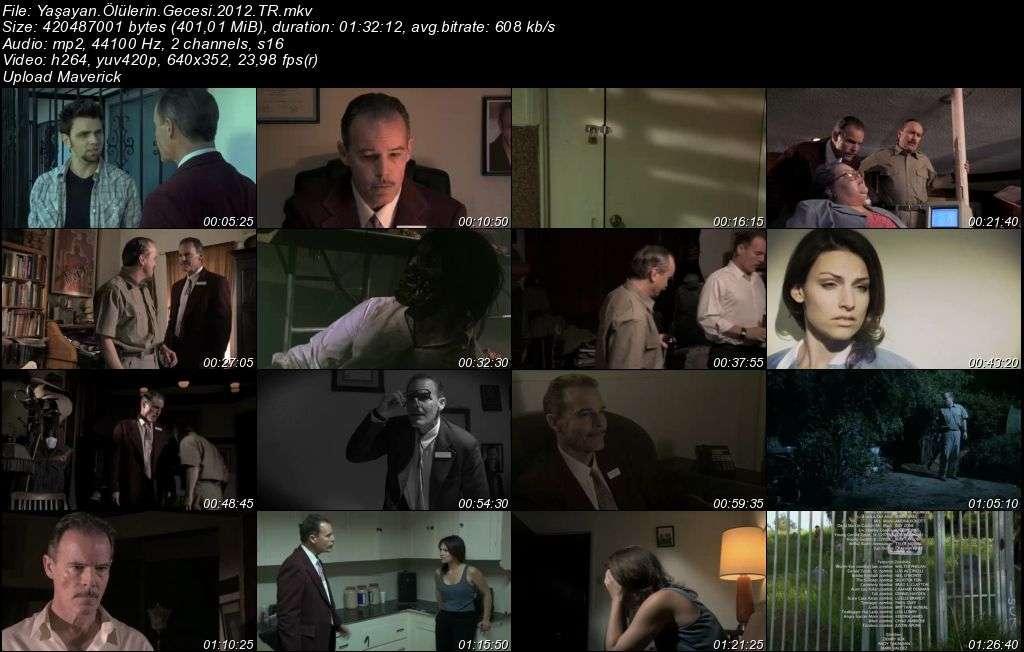 Yaşayan Ölülerin Gecesi - 2012 Türkçe Dublaj MKV indir