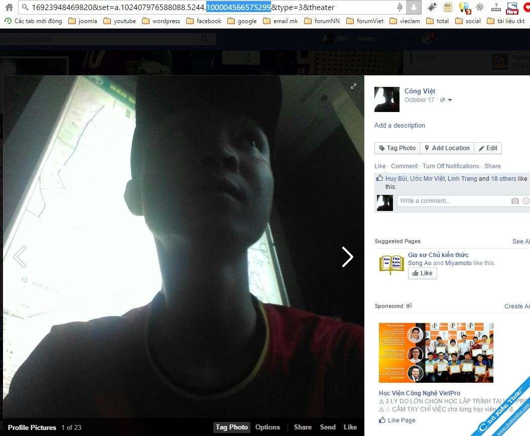 UID nick facebook cá nhân
