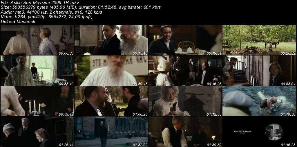 Aşkın Son Mevsimi - The Last Station - 2009 Türkçe Dublaj MKV indir