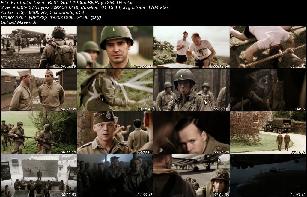 Kardeşler Takımı - 2001 Tüm Bölümler BluRay m1080p Türkçe Dublaj MKV indir