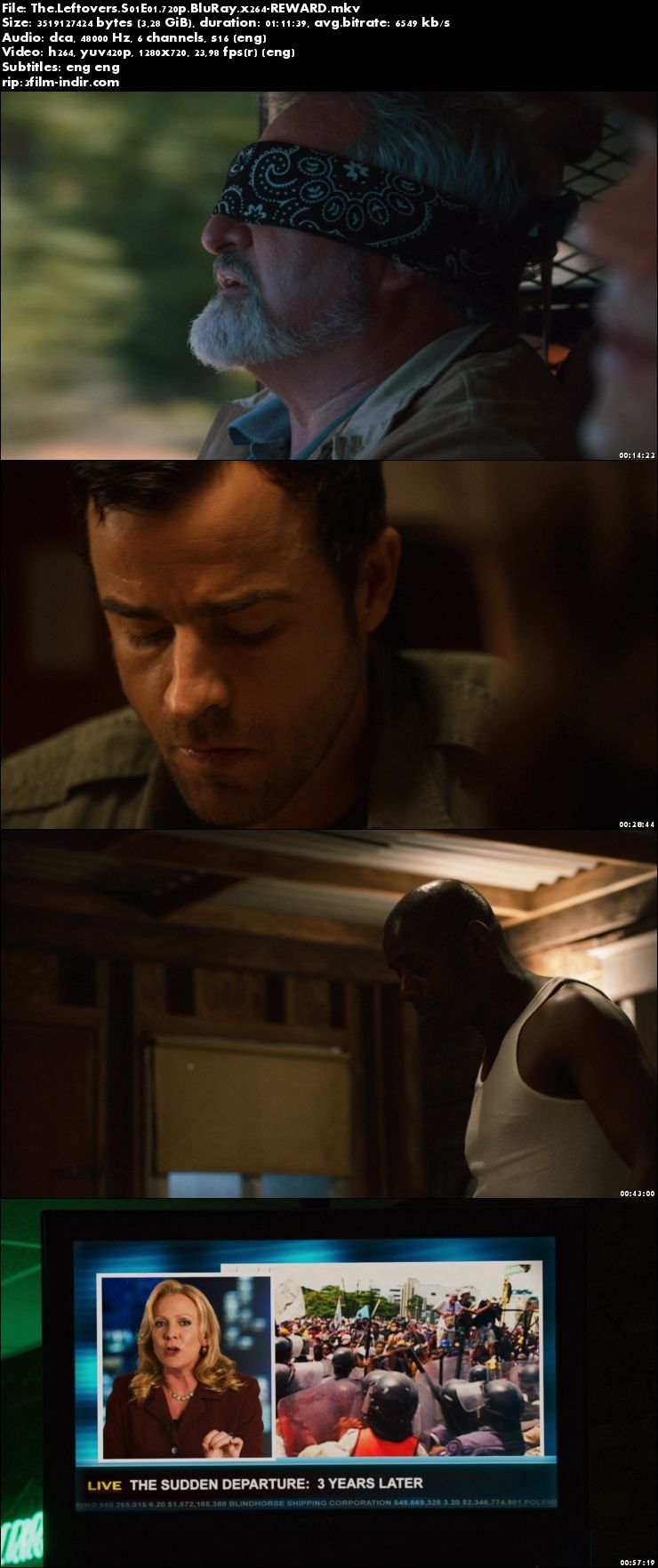 The Leftovers (2014–) Sezon 1 Tüm Bölümler 720p BluRay x264 TR Altyazılı indir