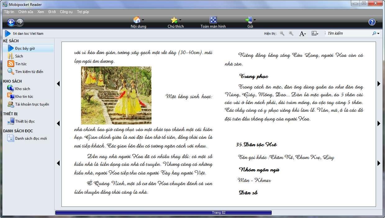 Việt hóa] Mobipocket Reader 6 2 - Phần mềm đọc ebook trên