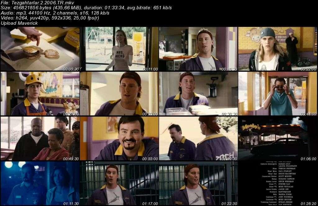 Tezgahtarlar 2 - Clerks 2 - 2006 Türkçe Dublaj MKV indir