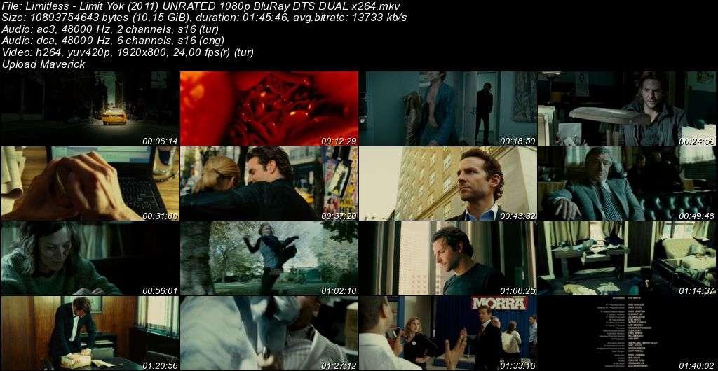 Limit Yok - 2011 BluRay 1080p DuaL MKV indir