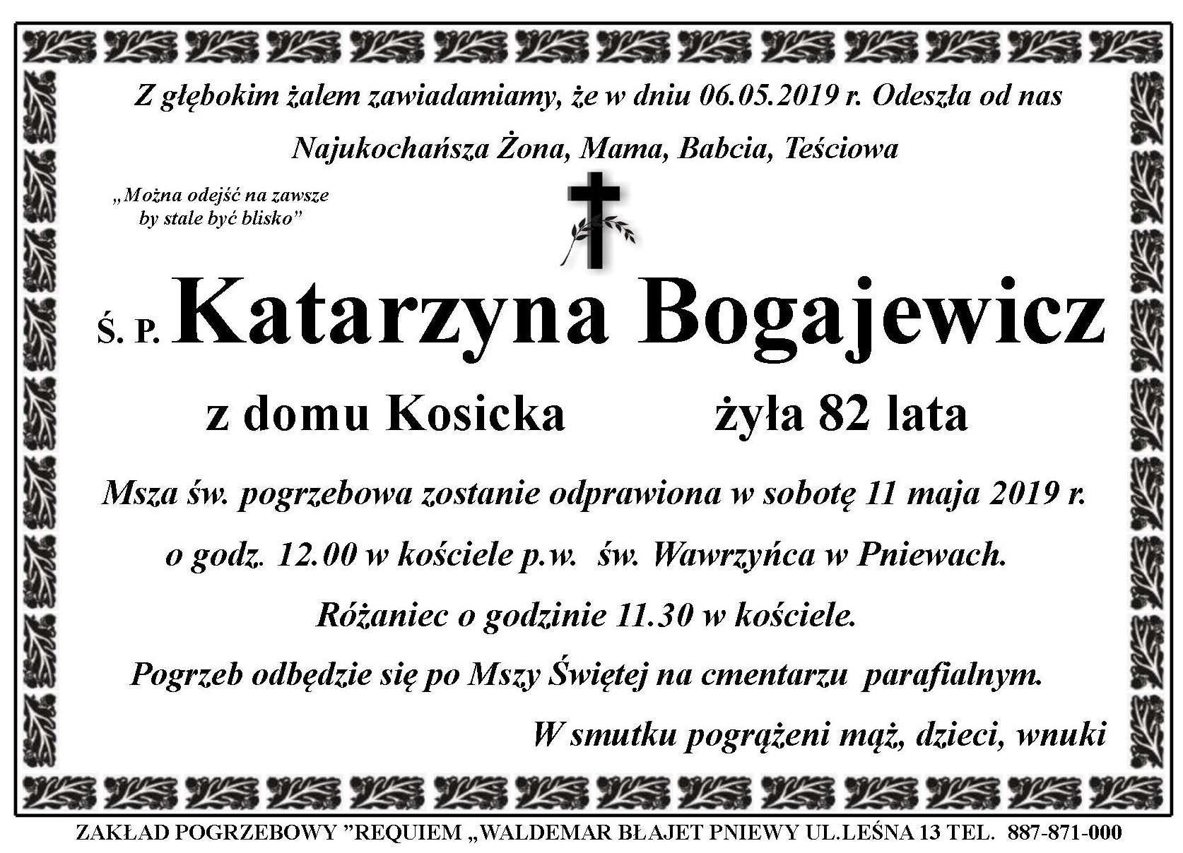 Żyli wśród nas – Katarzyna Bogajewicz