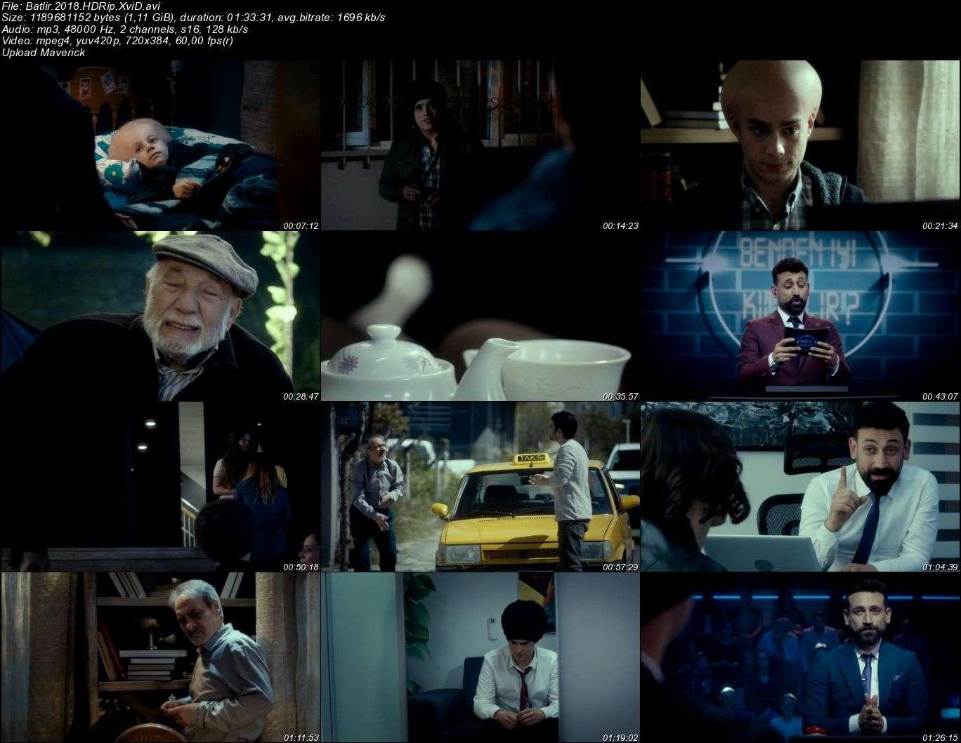 Batlir - 2018 (Yerli Film) HDRip XviD indir