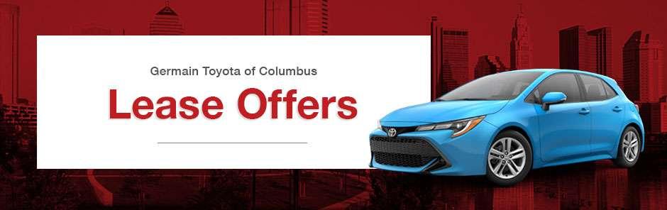 Toyota Columbus Ohio >> Toyota Lease Offers In Columbus Oh Germain Toyota Of Columbus
