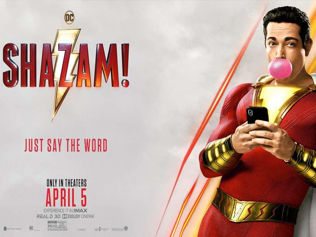 Shazam! Quad Poster Πόστερ