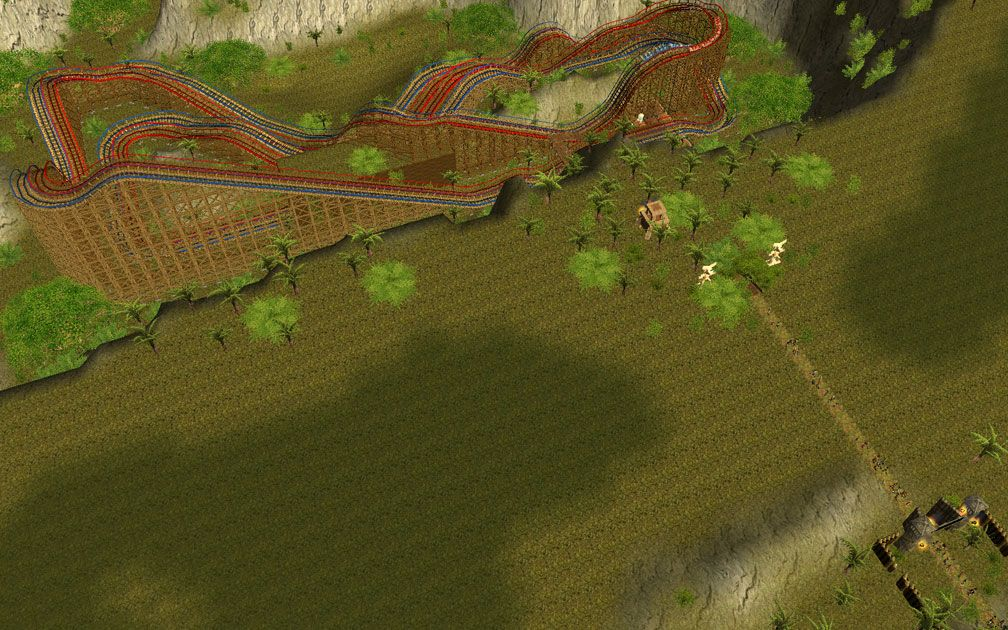 Lead Image for FlightToAtlantis.net: RCT3 FAQ: Campaign Scenario Directory Specifics: Raiders of the Lost Coaster