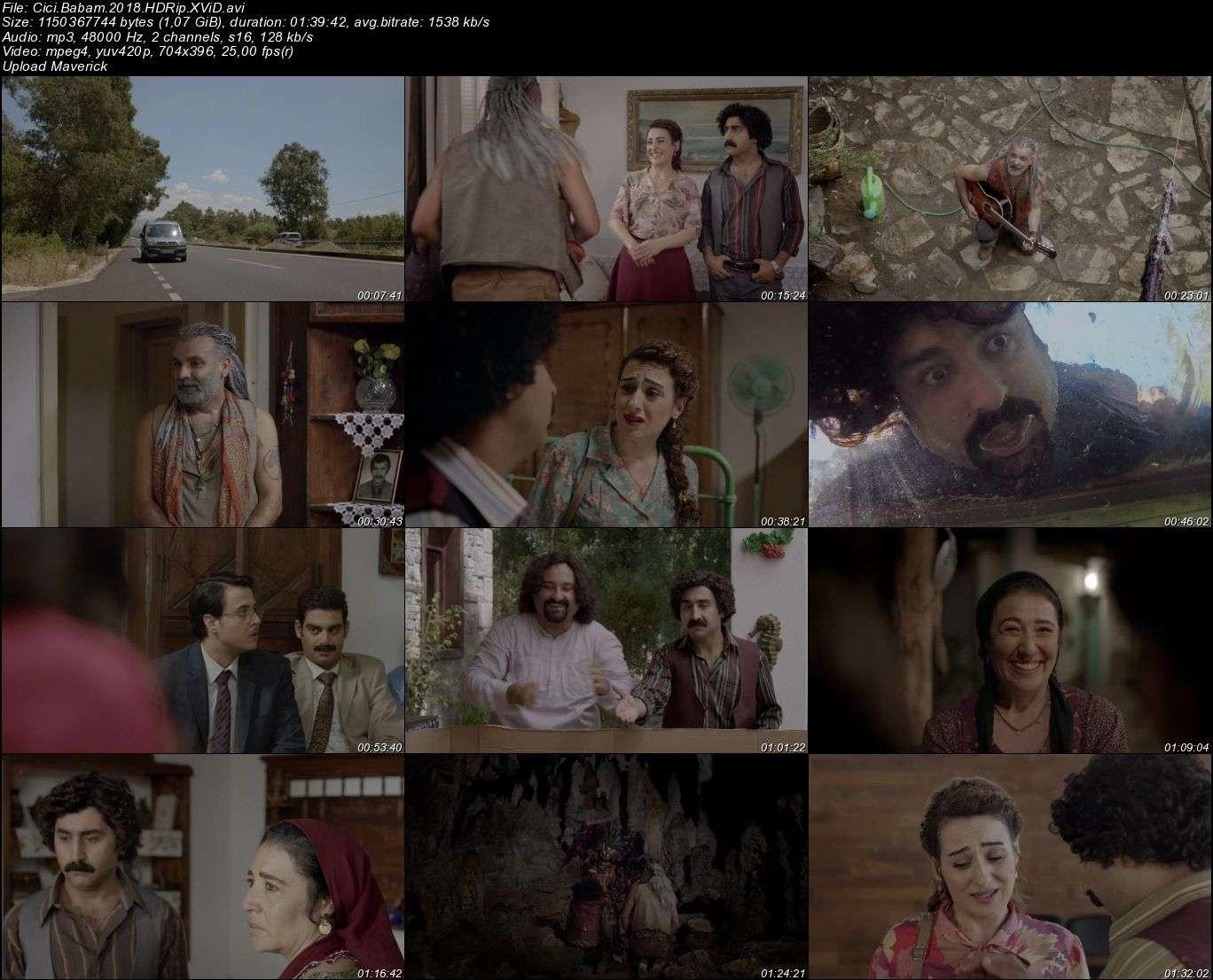 Cici Babam - 2018 (Yerli Film) HDRip XviD indir