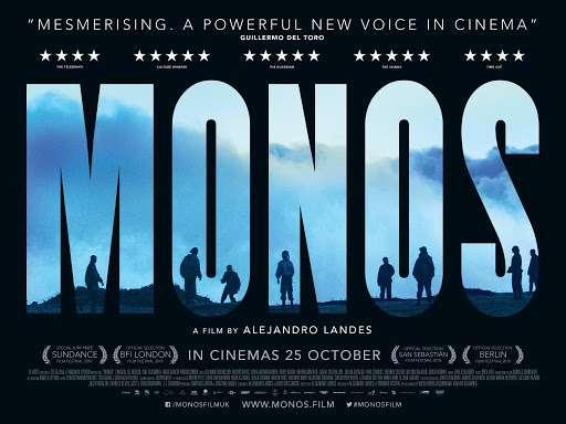 Οι Monos (Monos) Quad Poster