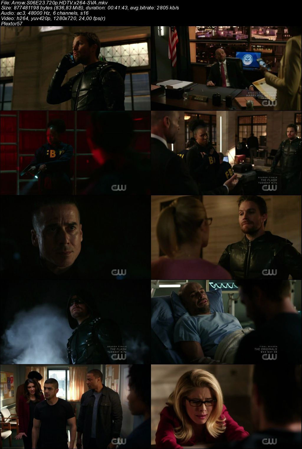 Arrow 6.sezon tum bolumler