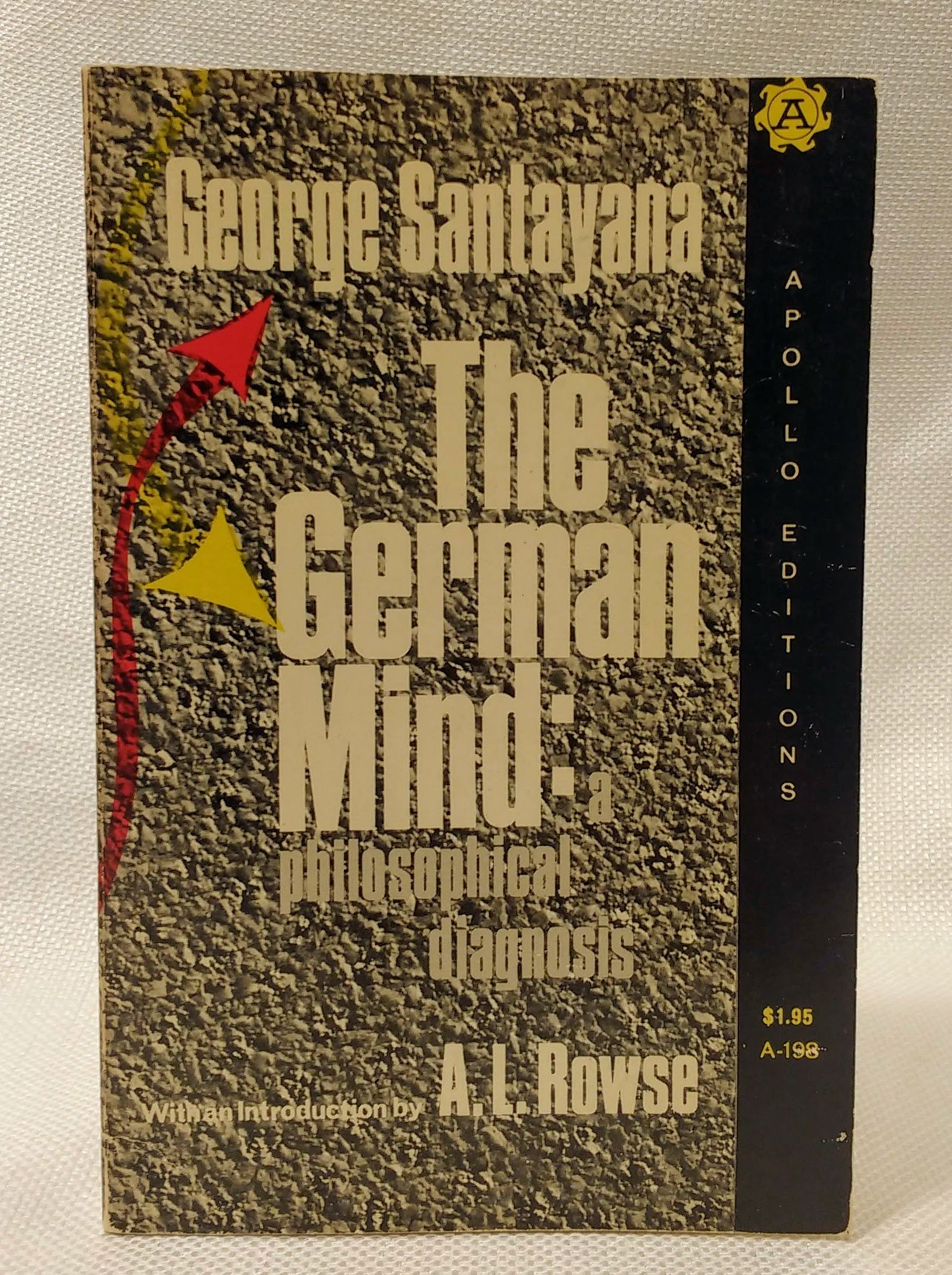 The German Mind, Santayana, George