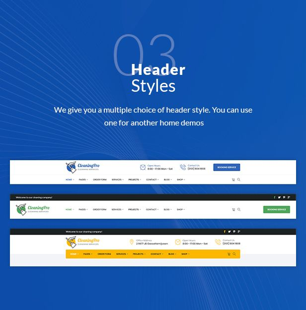 CleanPro - Cleaning Service PSD Template - 6