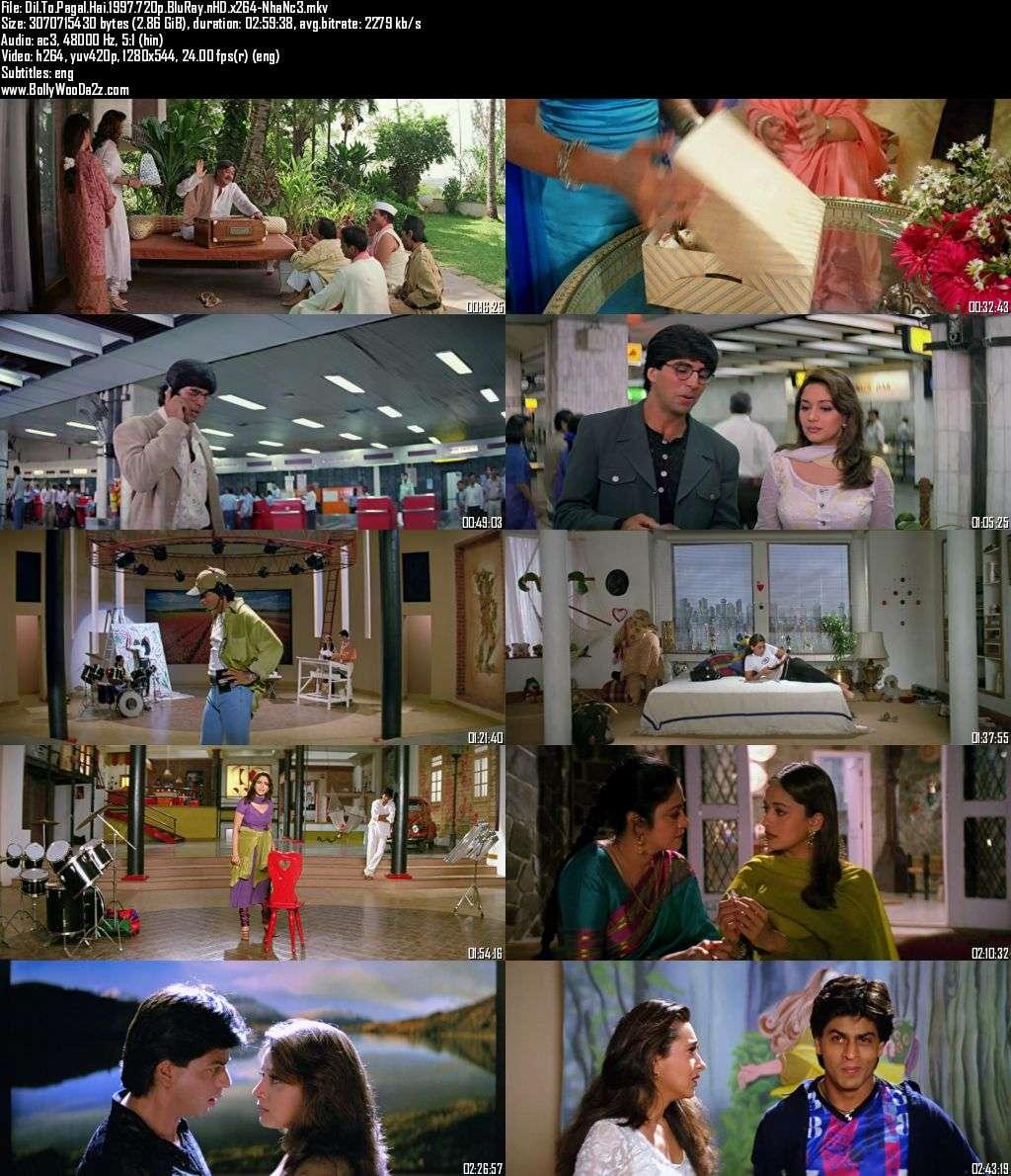 Dil To Pagal Hai (1997) 720p - BluRay - x264 - DD5.1-NhaNc3