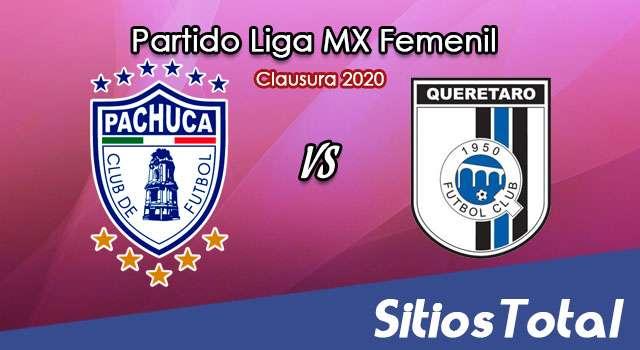 Ver Pachuca vs Querétaro en Vivo – Liga MX Femenil – Clausura 2020 – Lunes 24 de Febrero del 2020