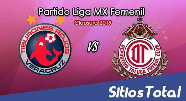 Ver Veracruz vs Toluca en Vivo – Liga MX Femenil – Clausura 2019 – Lunes 15 de Abril del 2019