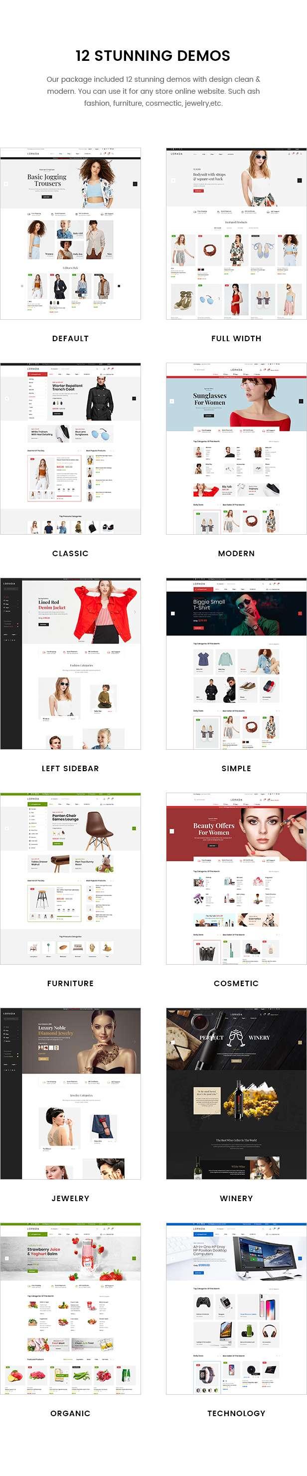 Lorada - Multipurpose eCommerce PSD Template - 3