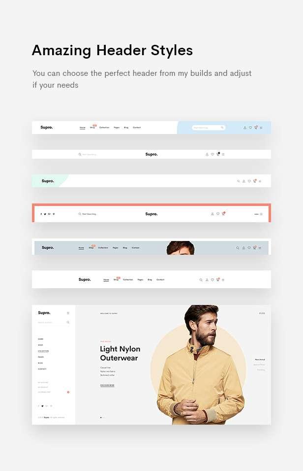Supro | Minimalist eCommerce PSD Template - 12