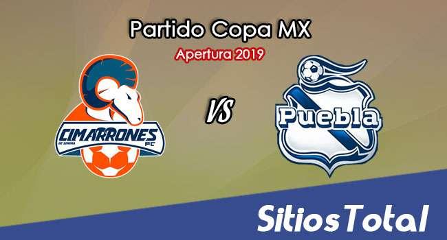 Cimarrones de Sonora vs Puebla en Vivo – Copa MX – Miércoles 23 de Octubre del 2019