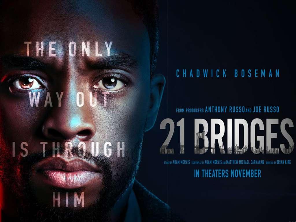21 Γέφυρες (21 Bridges) Quad Poster