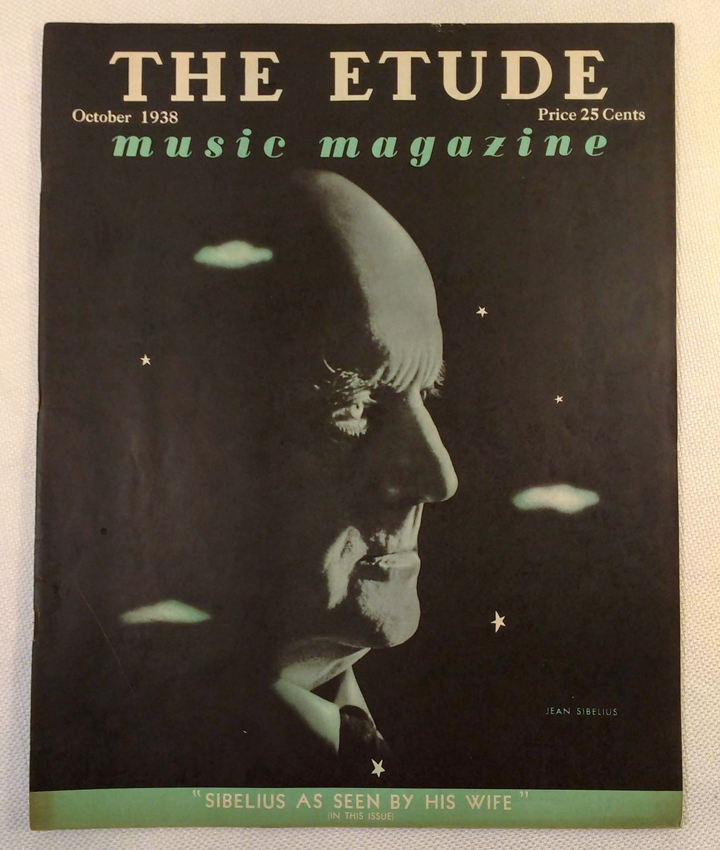 Image for The Etude Music Magazine: Volume LVI, No. 10; October, 1938