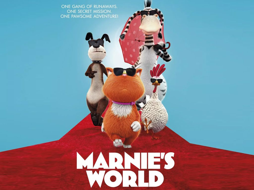 Mάρνι, Μια Τρελή Συμμορία (Marnie's World) - Trailer / Τρέιλερ Movie