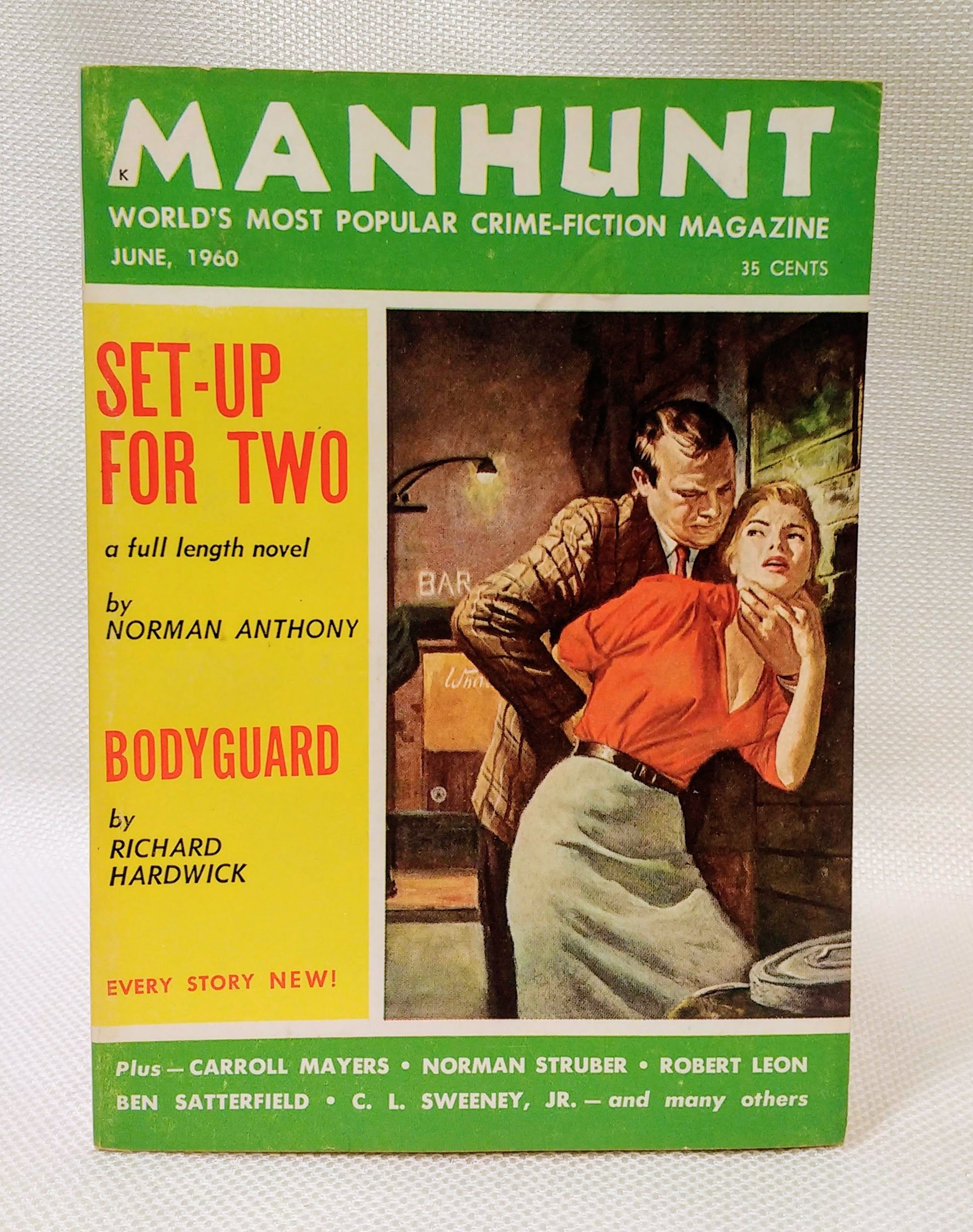 Image for Manhunt Detective Story Monthly; Vol. 8, No. 3 (June 1960)