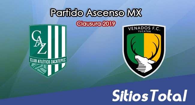 Ver Atlético Zacatepec vs Venados en Vivo – Partido de Vuelta – Cuartos de Final – Ascenso MX en su Torneo de Clausura 2019